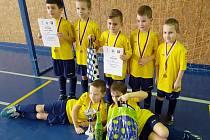 Sestava Lokomotivy (branky): Danyi, Veličkov (9), Max Nefedov, Milan Nefedov, Rada (1), Holub (2), Hůlka. Trenéři: Kubišta, Nefedov.