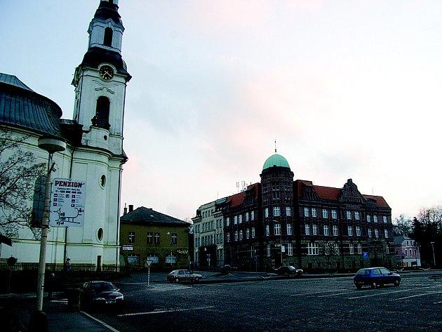 Nový Bor náměstí
