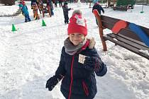 Učitelky z MŠ v Brněnské ulici pro děti v úterý 5.2.2019 uspořádaly zimní olympijské hry.