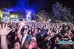 Na Mácháč dorazilo na deset tisíc fanoušků.