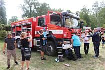 Městské slavnosti v Doksech se letos nesly v duchu oslav 150. výročí založení sboru dobrovolných hasičů.