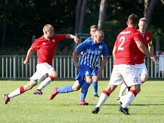 Sportovní sdružení Ostrá - Arsenal Česká Lípa 2:1 (1:1).
