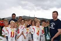 Závěrečného předávání cen se zúčastnil také bývalý hokejový reprezentant, olympijský vítěz z Nagana František Kučera (na snímku).