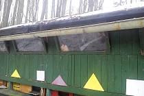 Zanedbaný včelín na kraji lesa u Sloupu v Čechách, o který se nikdo nestará, může být ohniskem nákazy.