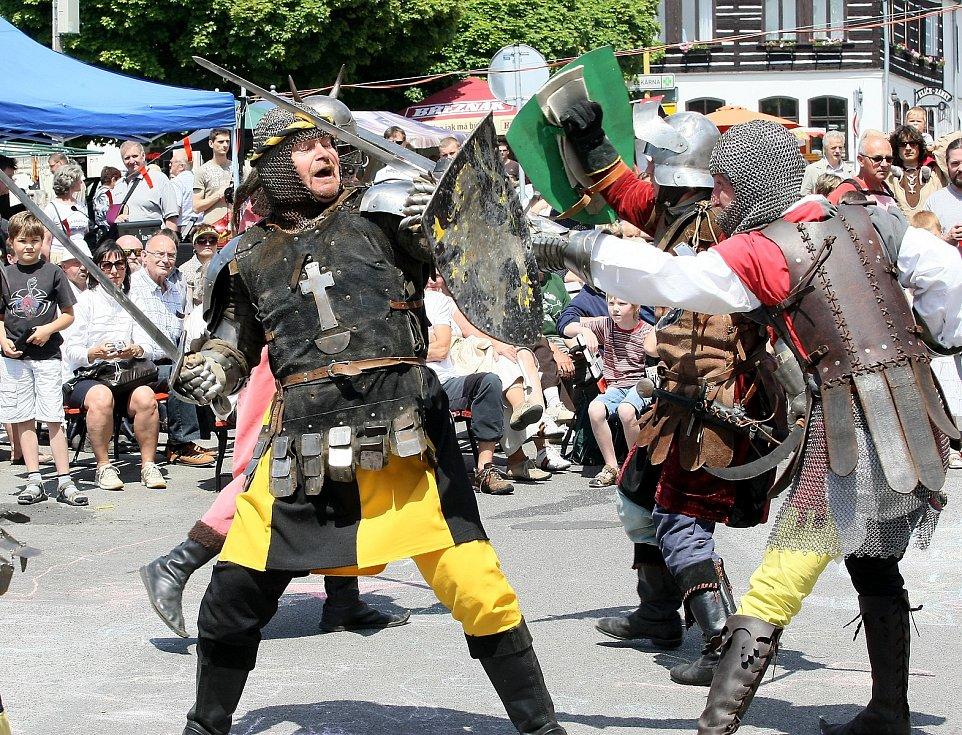 Zdislavina pouť a městské slavnosti se konaly vJablonném vPodještědí, 2012.