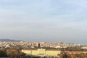 V posledním říjnovém dni přivítala Vídeň 54 žáků českolipské Obchodní akademie.