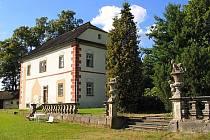 Bredovská zahrada u zámku Lemberk.