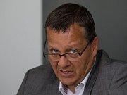 Pavel Marek, šéf představenstev krajských nemocnic.