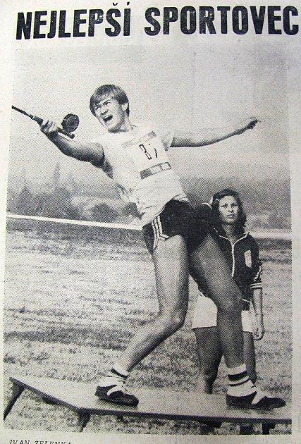 Sportovcem roku 1983se stal sportovní rybář Ivan Zelenka.