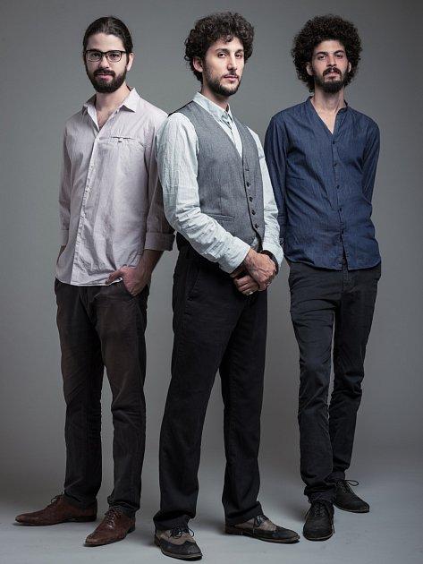 SHALOSH TRIO. Newyorští jazzmani sizraelskými kořeny vystoupí vČeské Lípě 14.dubna