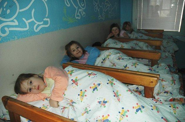 Děti v mateřské škole Klíček