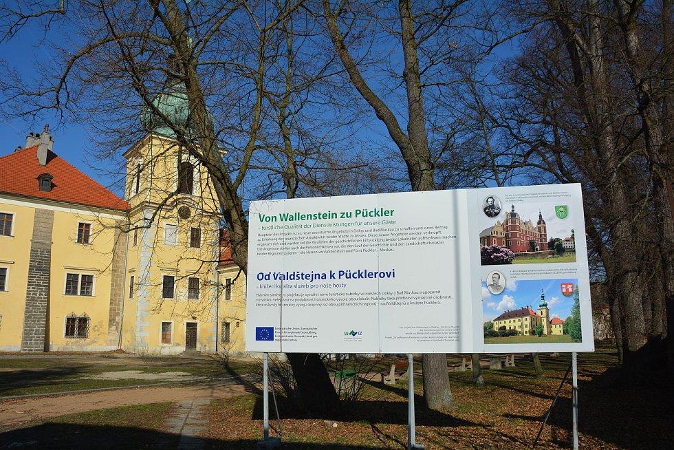 Zámek v Doksech vyrostl pravděpodobně v druhé polovině 16. století.