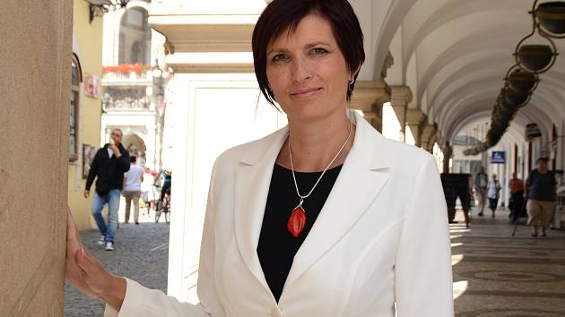 Lídr kandidátky ANO v Libereckém kraji, Jitka Volfová.