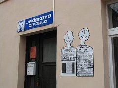 Jiráskovo divadlo - pohled z Panské ulice