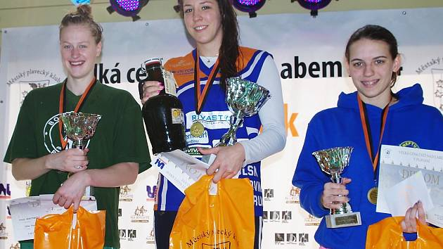 Dvojnásobná mistryně Evropy na 50 m prsa, Petra Chocová, v Ústí nad Labem předvedla nejlepší výkon celého mítinku.