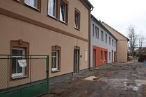 Rekonstrukce domu v Nerudově ulici jde do finále.