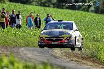 Momentka je ze závodů Rally Bohemia. Foto: Robert Balcar