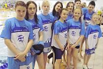 Na Memoriálu Jaroslava Jezbery v Chomutově reprezentovala oddíl PK Česká Lípa desetičlenná skupinka plavců.