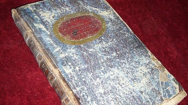 Kronika Zákup a okolí z roku 1836.