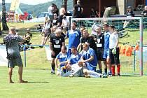 Benefiční fotbalový turnaj Skalice Celebrity Open Cup se víc než vydařil. Sedmý ročník akce vynesl rekordní sumu, 50 000 korun