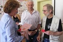 Český červený kříž ocenil dárce krve i ty, kteří se zasloužili o propagaci bezplatného dárcovství.