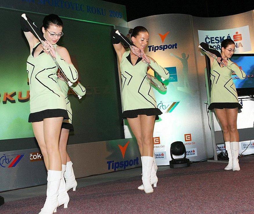 Deník ocenil nejúspěšnější sportovce uplynulého roku. O zpestření programu se postaraly také mažoretky ze ZŠ Slovanka.