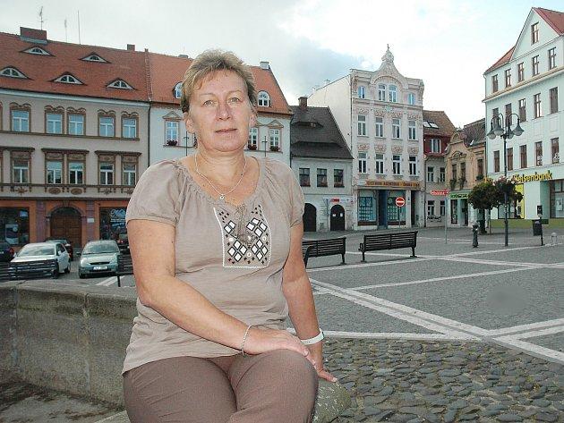 Krajská radní Alena Losová, má v gesci školství, mládež a zaměstnanost.