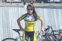 Cyklistka Kateřina Růžičková prokazuje formu v Dukle Praha.