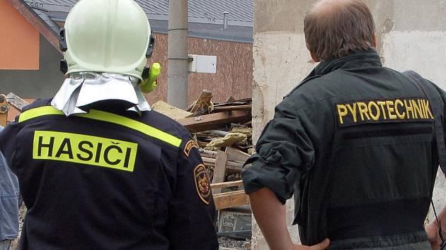 Přivolaný statik nařídil okamžité stržení domu. K tomu došlo v úterý ráno. Do sutin se okamžitě vrhli kriminalisté a pyrotechnik.