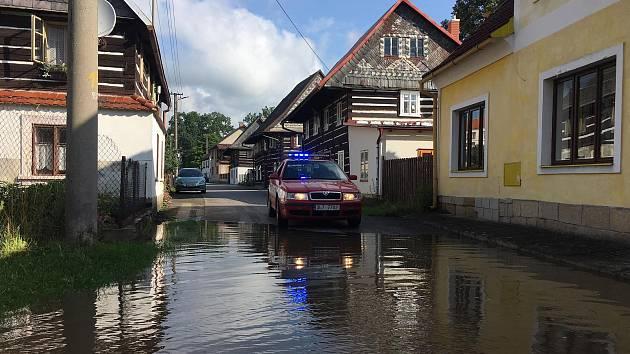 Povodně na Českolipsku