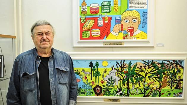 Nový rok v Městském muzeu v Mimoni zahájí výstava Františka Ringo Čecha.