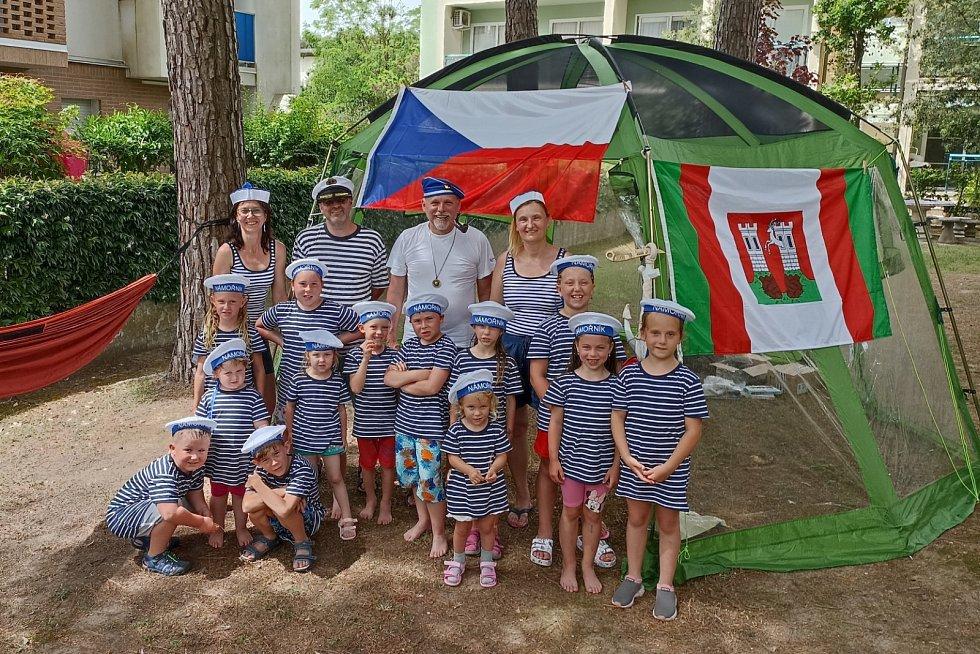 Mateřská škola Pražská z Doks vyrazila do Itálie.