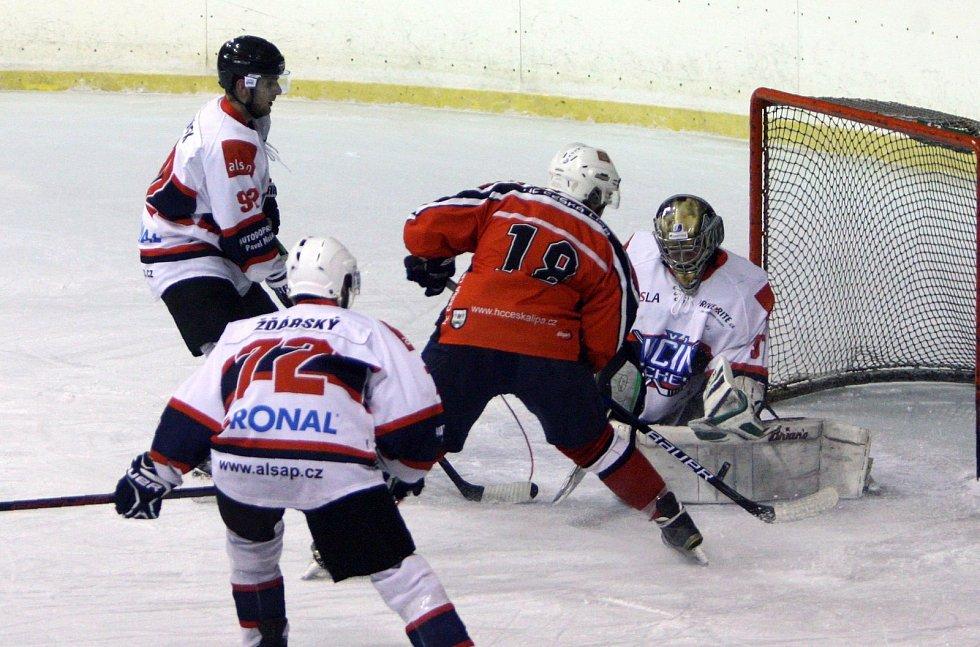 Hořká desítka. Hokejisté Jičína uštědřili Lípě vysokou porážku.