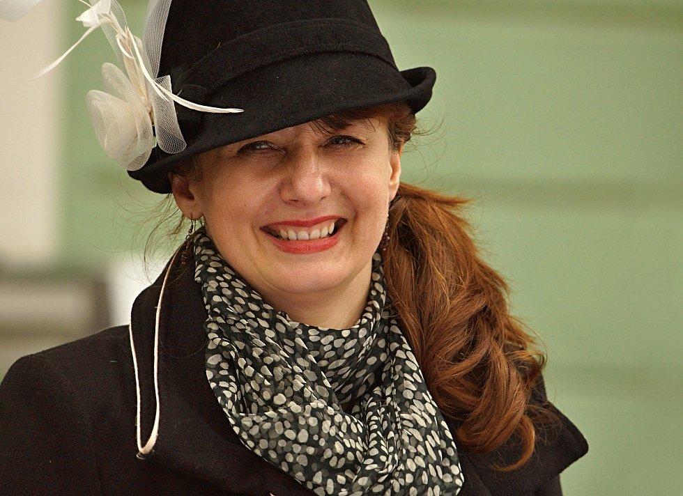 Irena Žalovičová, 45 let, starostka města Dubá.