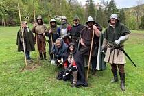 Valdštejnovi vojáci na Bezdězu.