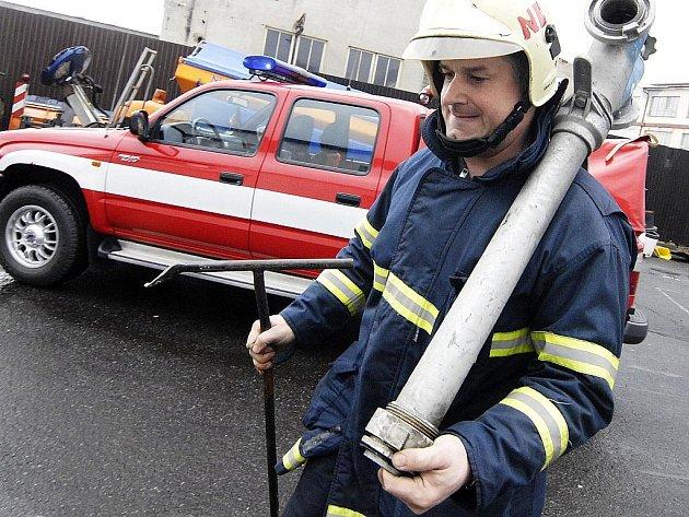 Novoborští hasiči. Ilustrační foto.