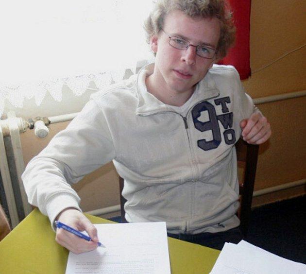Novoborský šachista Viktor Láznička.