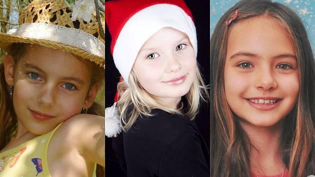 Anežka, Adéla, Natálie.