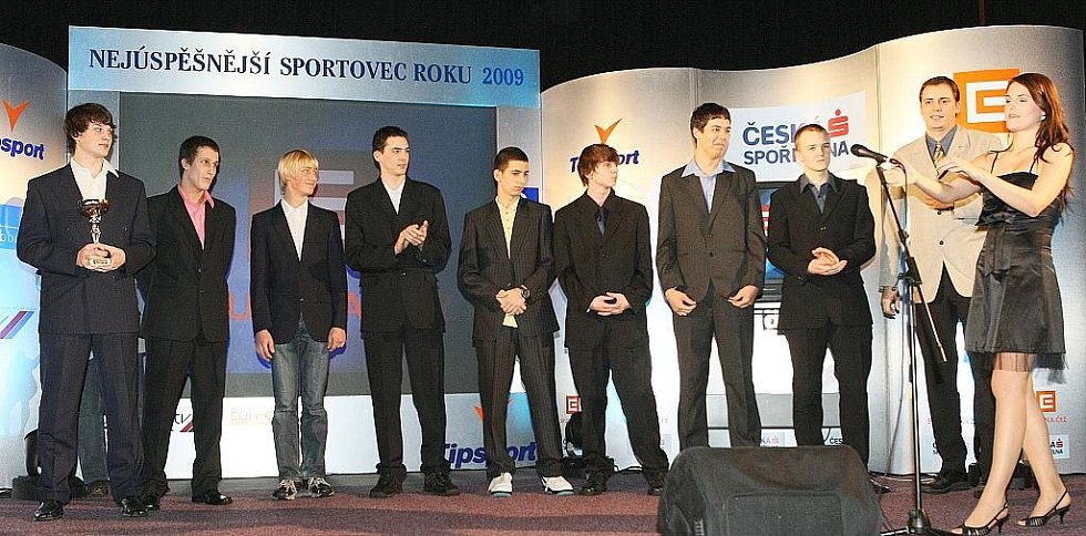 Deník ocenil nejúspěšnější sportovce uplynulého roku. Mezi kolektivy mládeže kralovali basketbalisté BK Česká Lípa.