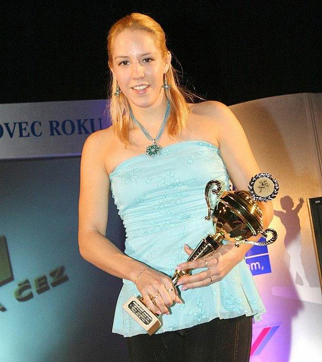 Deník ocenil nejúspěšnější sportovce uplynulého roku. Stříbrnou příčku obsadila loňská vítězka, plavkyně Petra Chochová.