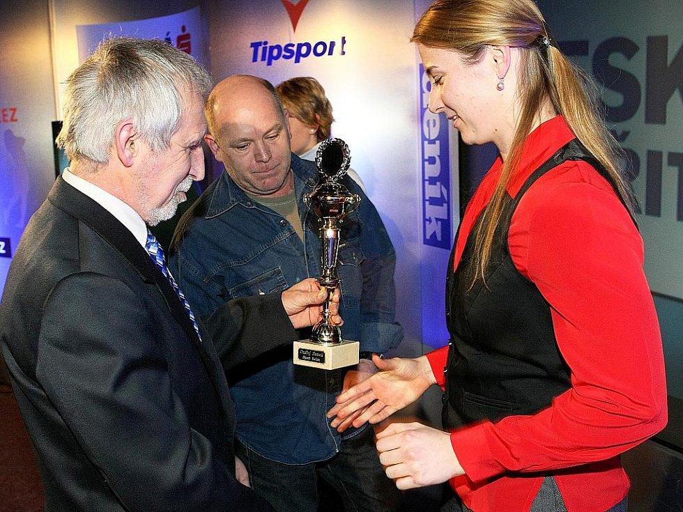 Deník ocenil nejúspěšnější sportovce uplynulého roku. Čtvrté místo pro atletku Lucii Vaníčkovou.