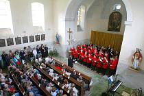 Kostela Čtrnácti svatých pomocníků v Krompachu.