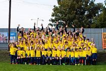 Fotbalová mládež Lokomotivy.