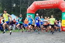 V Brništi odstartoval šestý ročník běžeckého závodu Brnišťský půlmaraton.