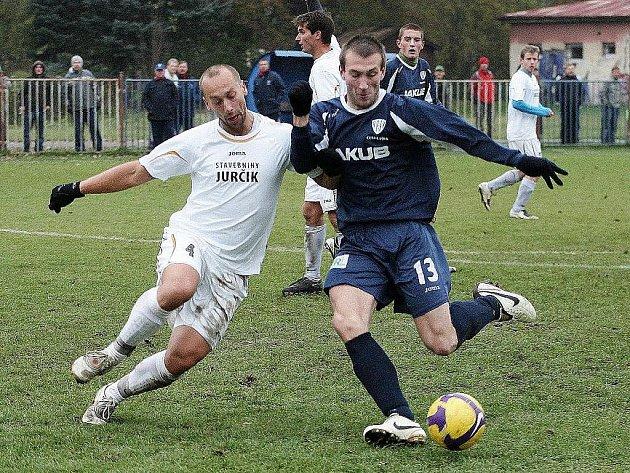 Fotbalisté rezervy Arsenalu a Doks se rozešli smírně 0:0.