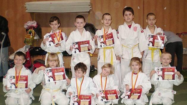 Mladí judisté Lokomotivy se představili na turnaji v Rumburku.