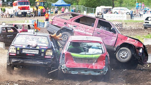 Destruction derby 2014.