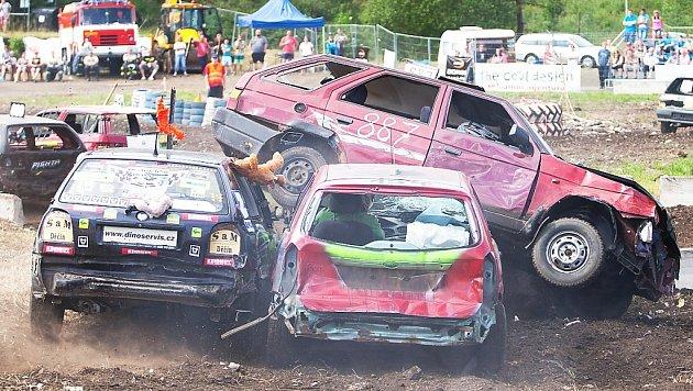 Destruction derby 2014.
