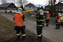 V dopoledních hodinách došlo v obci Branná na Českolipsku k nehodě, při které bylo zraněno dítě.