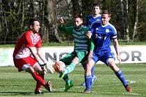 FC Nový Bor - SK Český Brod 0:2 (0:1).
